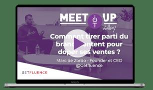 MeetUp Getfluence - Marc de Zordo